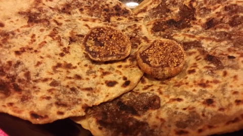 Dates & Figs stuffed Paratha