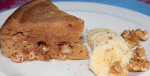 Microwave Banana cake