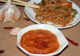 Noodles Schezwan sauce