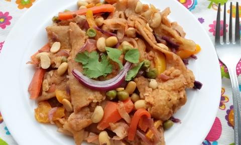 Paratha vegetables1