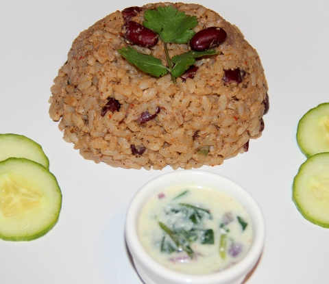 Rajma Red Rice2