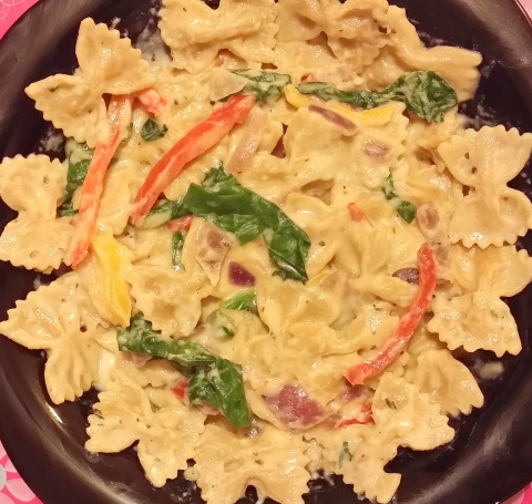 White sauce Pasta1
