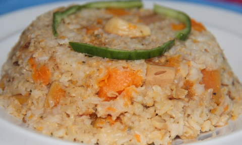 Butternut rice