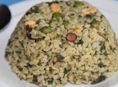 Bulgur Stir fry rice