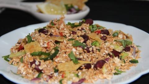 Oats Rajma snacks