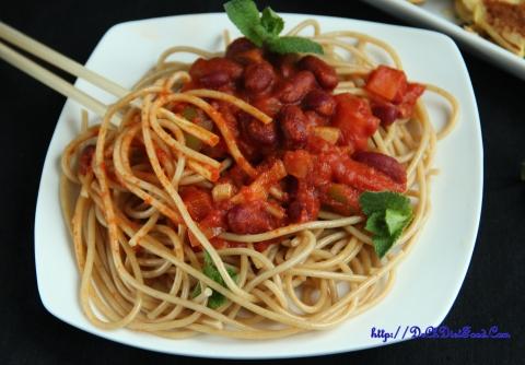 Bolognese Spaghetti3