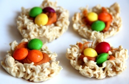 White Chocolate nests