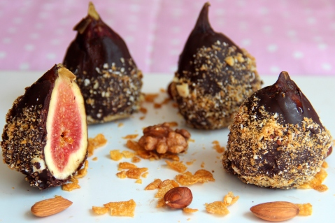 Figs chocolate new