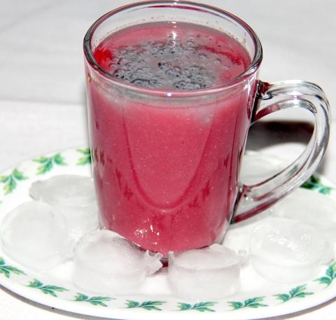 Pomogrante Melon Drink