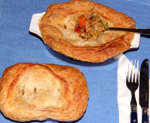 Pot Pie Paratha