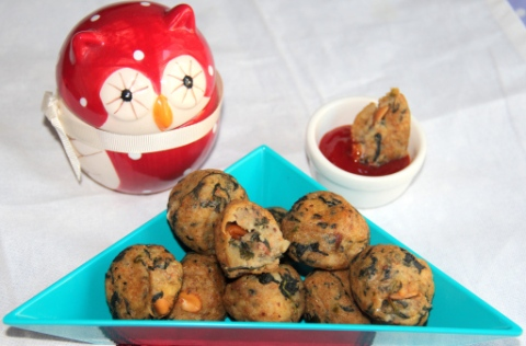 Spinach Potato balls