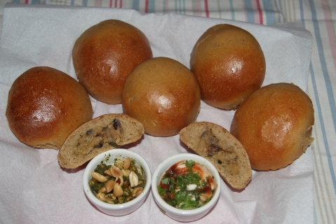 Stuffed buns