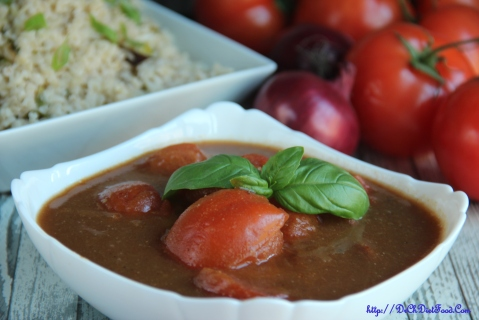 Tomatoes in Onion gravy1