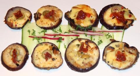 Eggplant Platter