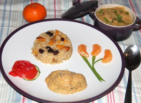 Orance rice