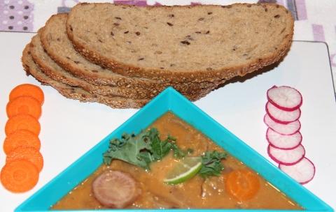 Radish Carrot Stew