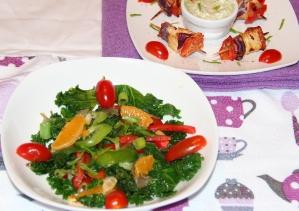 Salad front