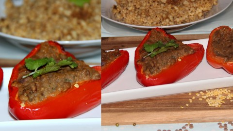lentils stuffed capsicum final