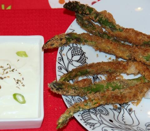 Asparagus baked