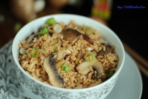 Mushroom rice1