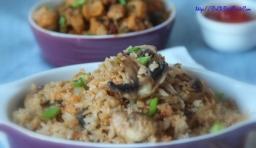 Mushroom rice2