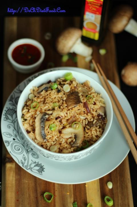 Mushroom rice3