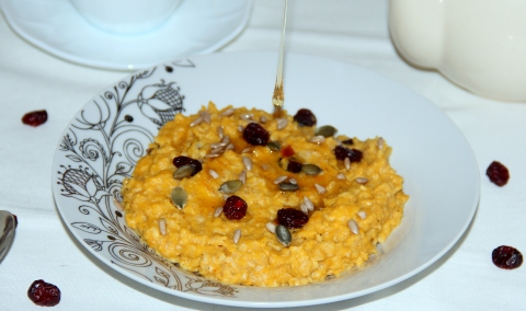 Oats pumpkin porridge2