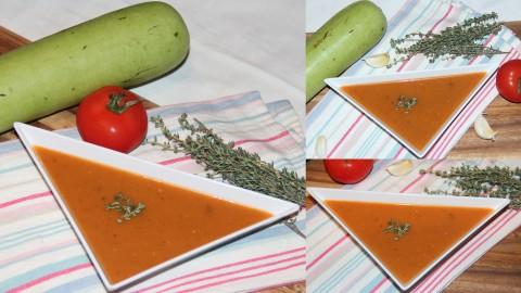 Bottle gourd tomato soup final