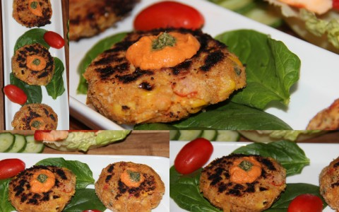 Chickpeas patties final