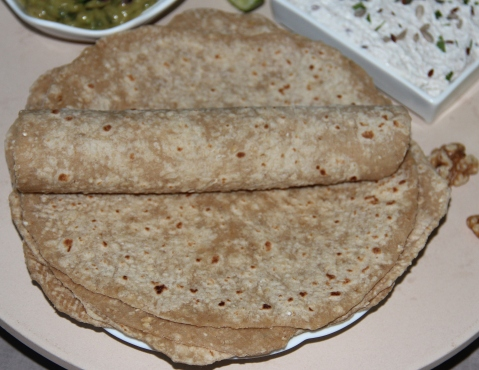 Whole wheat wraps