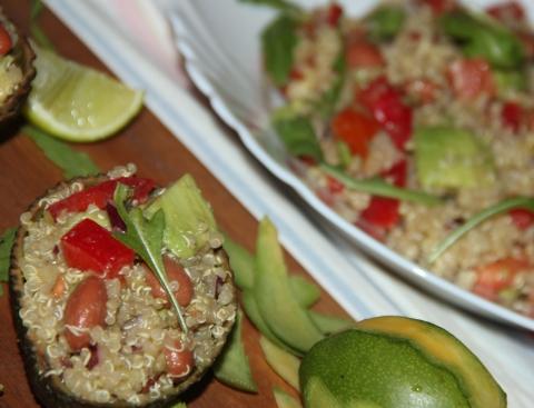 Avocado salad1