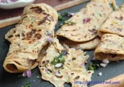 Coriander Onion Paratha15