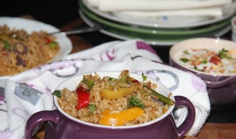 Potato Capsicum masala rice2