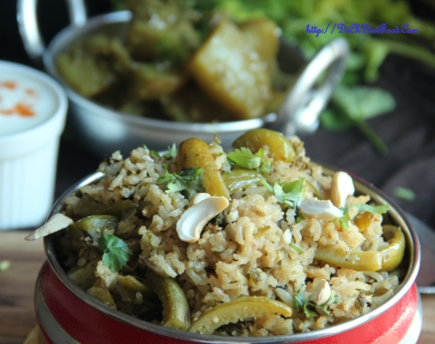 Tindora rice1