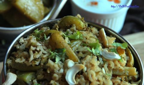 Tindora rice2