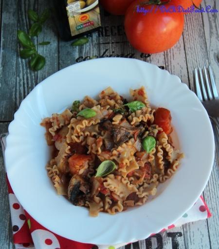 Pasta - tomato mushroom5