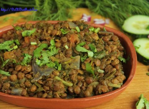 Brown lentil Palya1