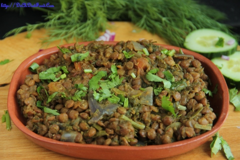 Brown lentil Palya2