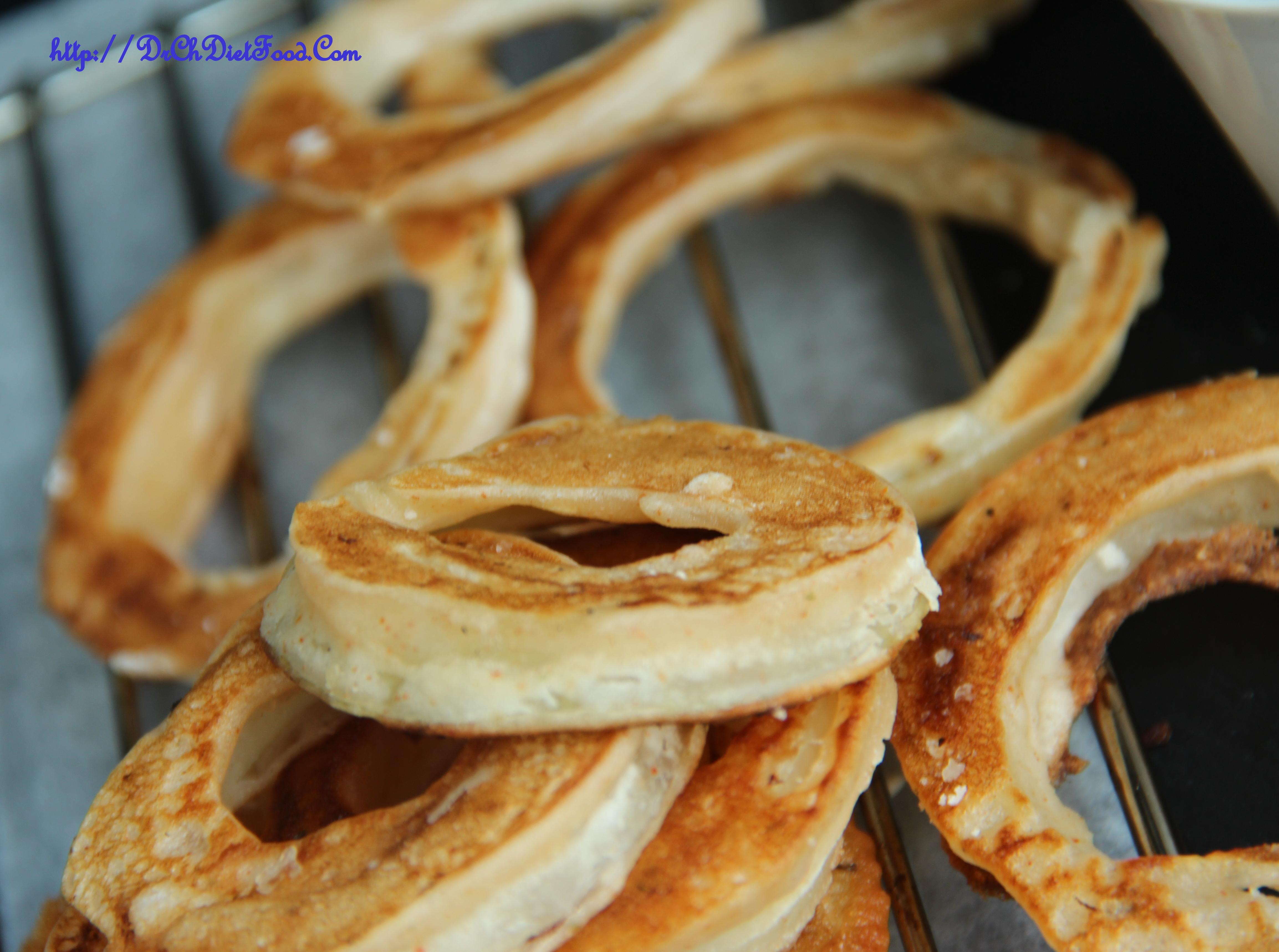 Onion Rings With Plain Flour