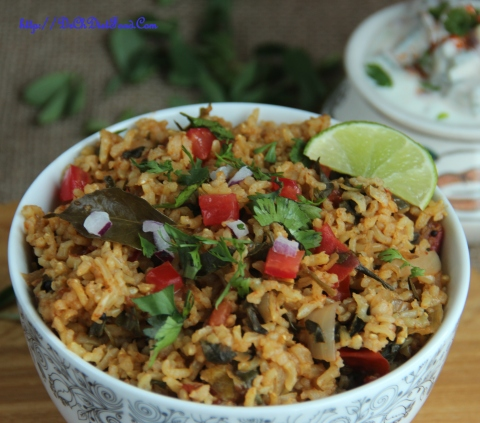 Tomato Methi Rice4