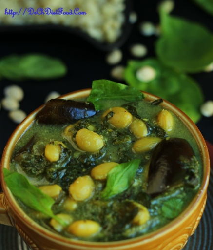 Aubergine limabean Curry1