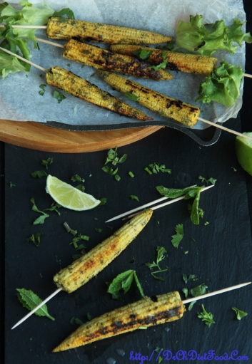 Babycorn skewers1