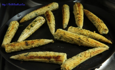 Babycorn skewers5