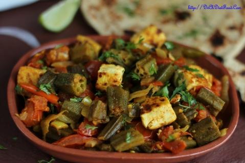 Bhindi Kadai1