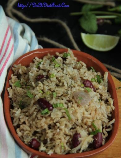 Kidney beans rice3