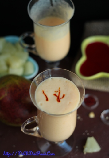 Mango Pineapple Rose lassi1