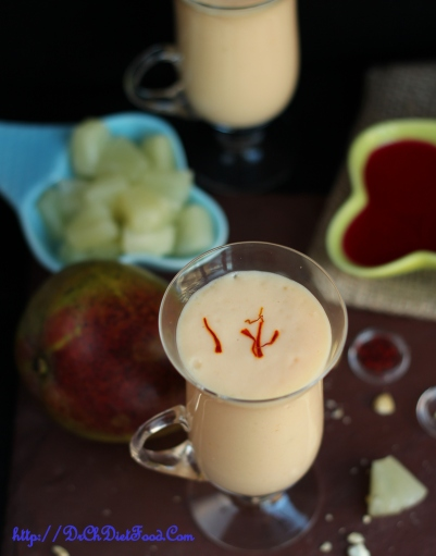 Mango Pineapple Rose lassi2