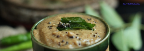 Methi seeds Curry leaves Chutney1