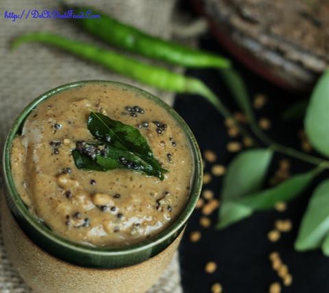 Methi seeds Curry leaves Chutney2