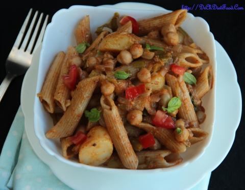 Pasta Chickpeas1